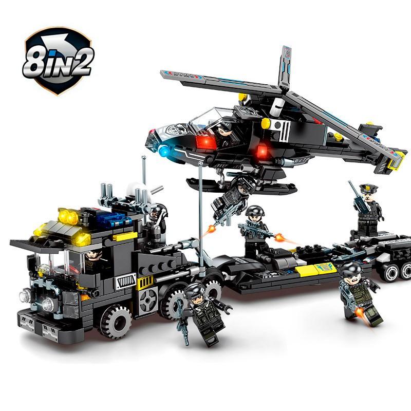 102159-102166 Sembo Block Спецназ: набор из 8 конструкторов