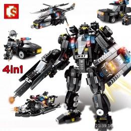 102255-102258 Sembo Block Спецназ 4 в 1