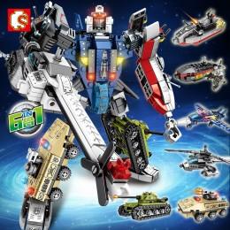 103099-103104 Sembo Block Робот-трансформер (6 в 1)