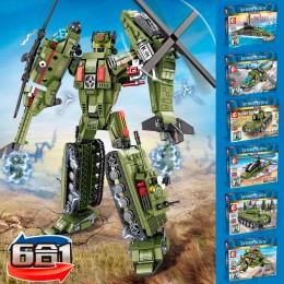 105330-105335 Sembo Block Трансформер: 6 в 1