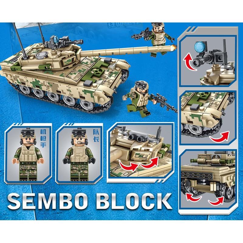105562 Sembo Blocks Основной боевой танк VT-4