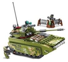 105564 Sembo Block Десантный автомобиль ZTD-05