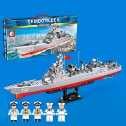 105711 Sembo Block Эсминец 052D