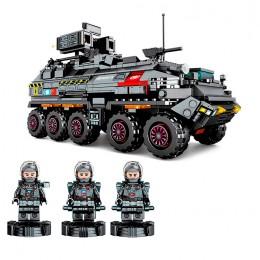 107005 Sembo Block Военный грузовик