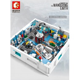107021-24 SEMBO Космическая станция - набор 4 в 1