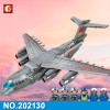 202130 Sembo Block Военный транспортный самолет Y-20