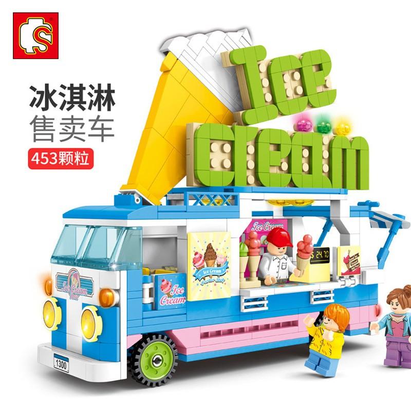 601300 Sembo Block Грузовик с мороженым