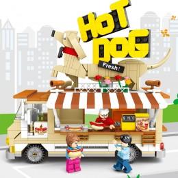 601301 Sembo Block Фургон с хот-догами