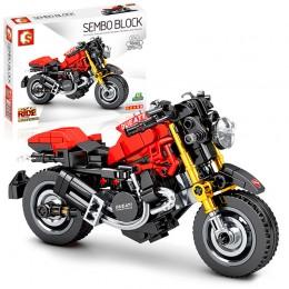 701103 Sembo Block Мотоцикл Monstrous