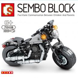 701118 Sembo Block Мотоцикл