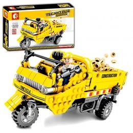 701350 Sembo Block Трехколесный мини-думпер «Самосвал»