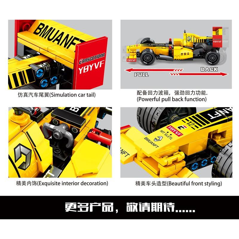701352 Sembo Block Болид Формулы 1: Рено