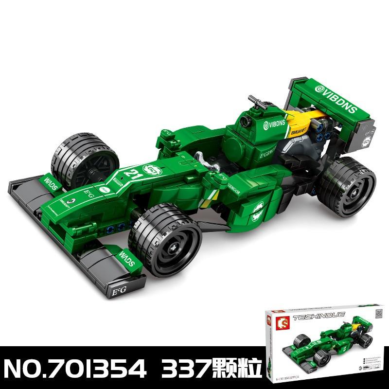 701354 Sembo Block Гоночная машина Формулы-1: команда Renault