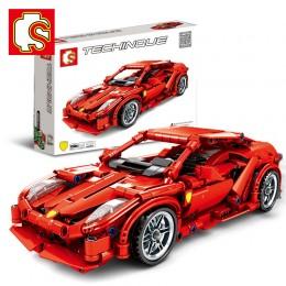 701501 Sembo Block Ferrari 458 (Pull Back)