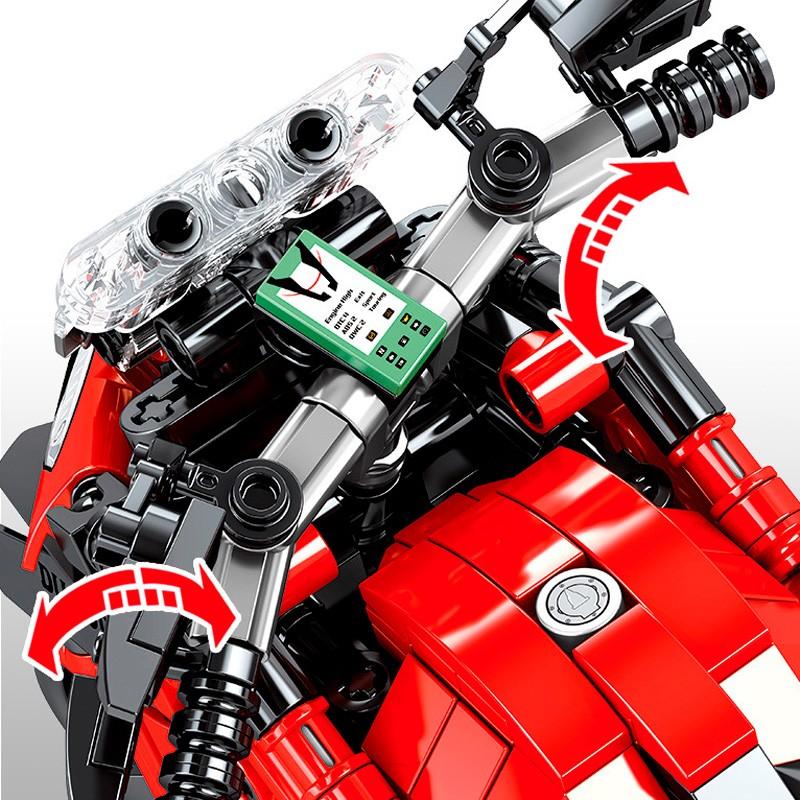 701604 Sembo Block Байк Radical Ducati Matador
