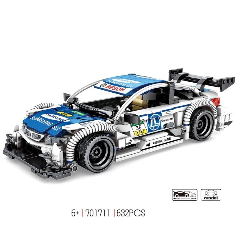 701711 Sembo Block Автомобиль BMW M4 DTM