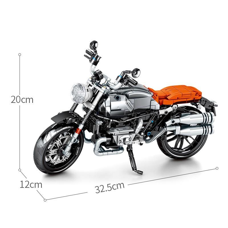 701806 Sembo Block Мотоцикл