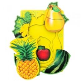 Вкладыш многослойный фрукты