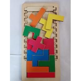 Тетрис с уровнями сложностями