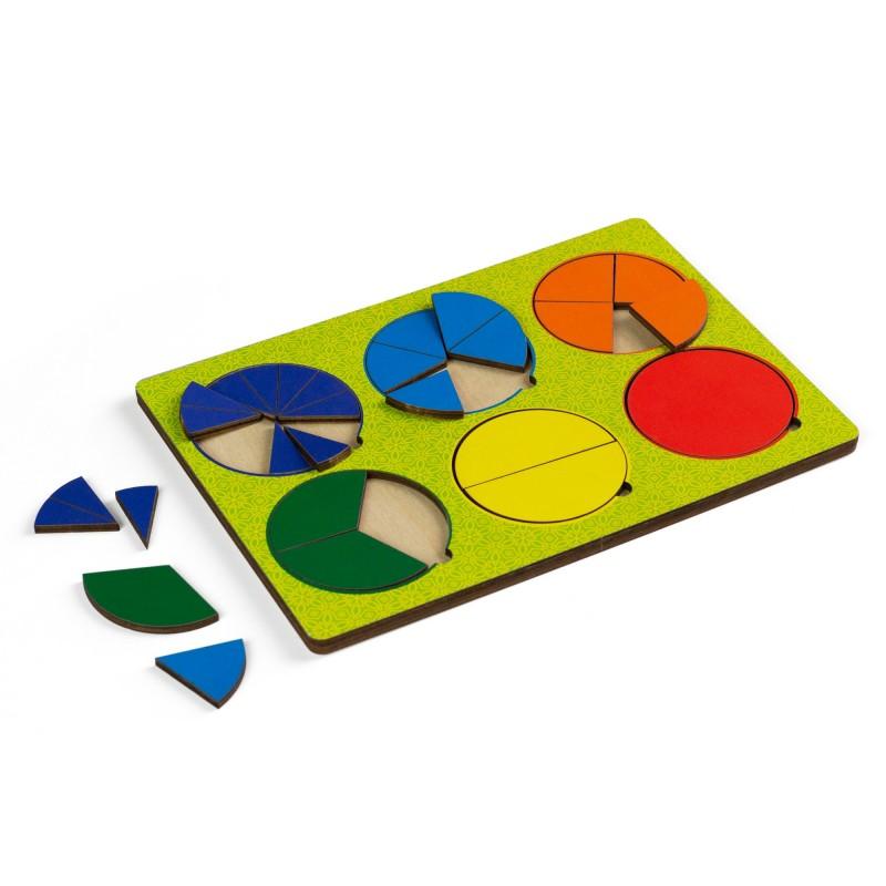 Рамки - вкладыши Никитина, 6 кругов