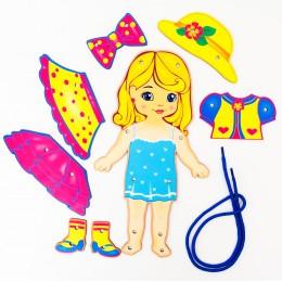 Шнуровка кукла