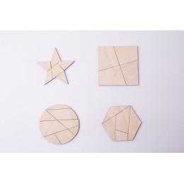 Головоломка IQ геометрические фигуры