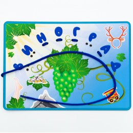 Развивающая игра «Собери слова. Виноград»