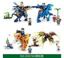 SY1502A-1502D SY Мир динозавров 4 в 1