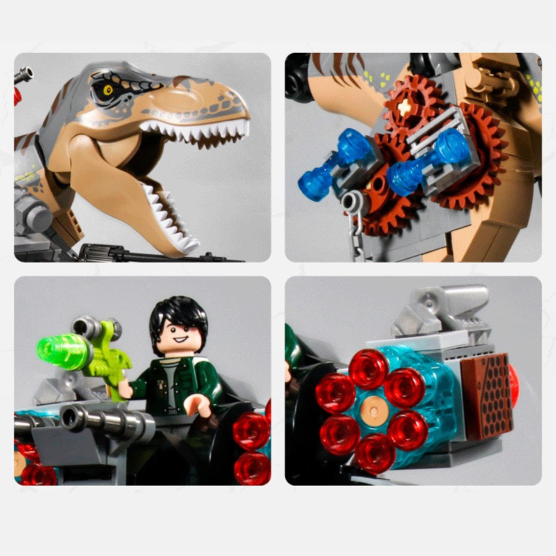 SY1596 SY Погоня за Тираннозавром
