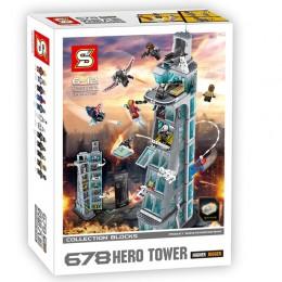 SH678 SY Супергерои: Нападение на башню Мстителей