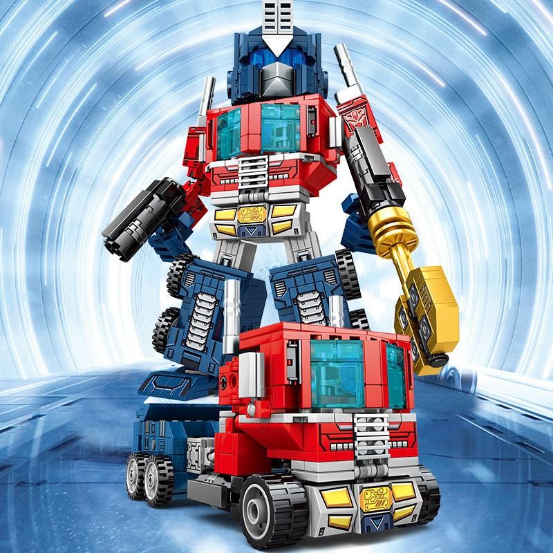Конструктор SY6486 SY Робот-трансформер: Оптимус Прайм ...