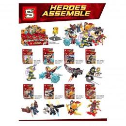 1046 SY Набор 8 в 1 Super Heroes