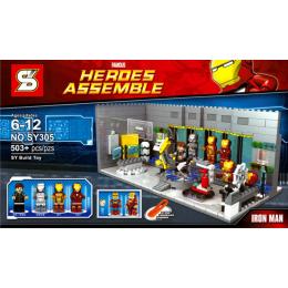 SY305 SY Лаборатория Железного человека