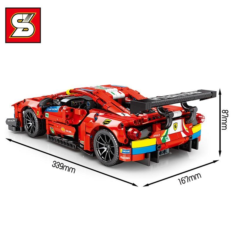 SY8613 SY Ferrari 488 GTE