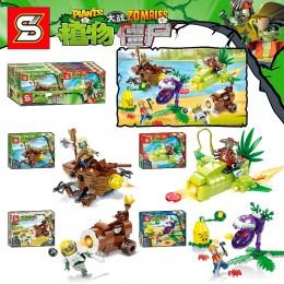 SY1437 SY Растения против Зомби: набор 4 в 1