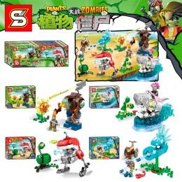 SY1438 SY Растения против Зомби: набор из 4 конструкторов