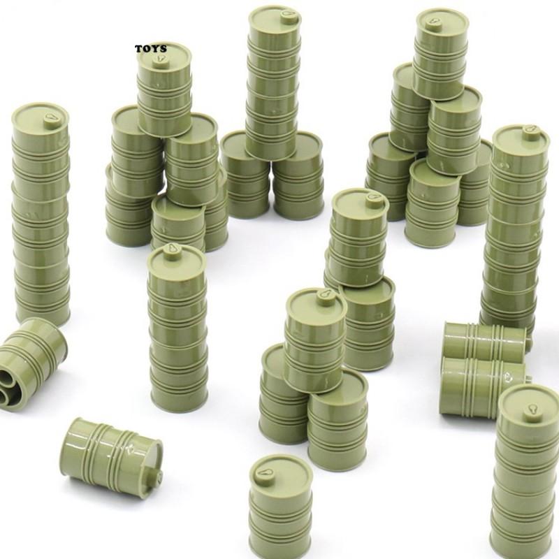 b-1 TBS Toys Набор зеленых бочек (25 шт.)
