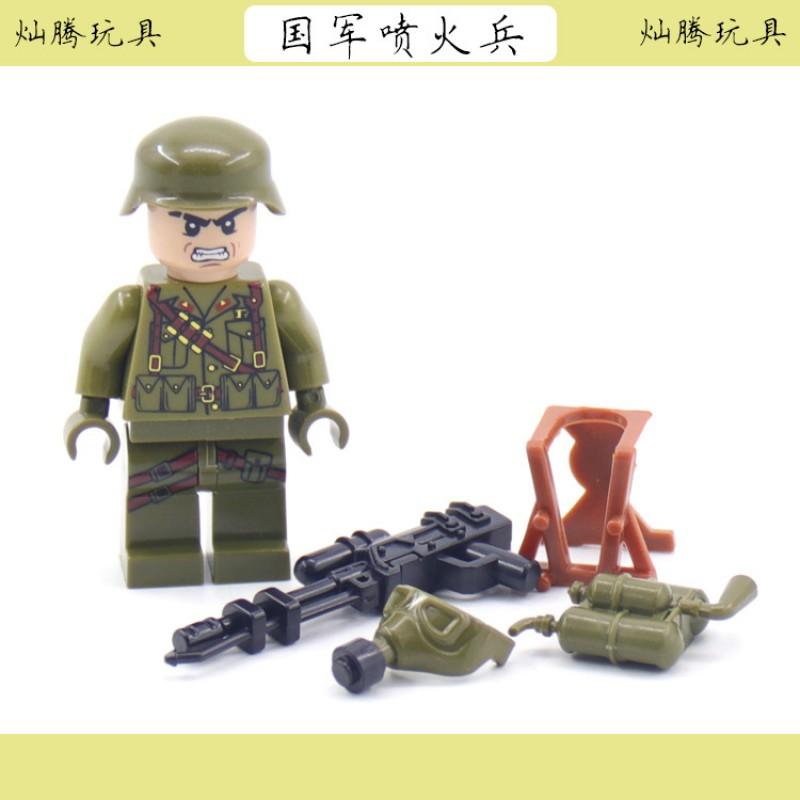 FO-1 TBS Toys Отделение огнемётчиков (10 шт.)