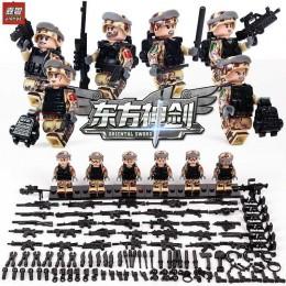 JY107 TBS Toys Набор солдат китайской армии 6 в 1