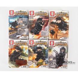 TBS11-16 TBS Toys Набор минифигурок SWAT - 6 шт.