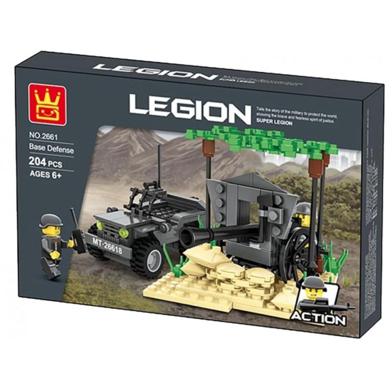 2661 Wange Легион: временная оборонительная база