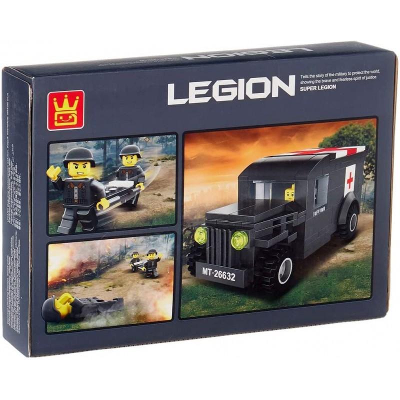 2663 Wange Легион: полевой врач