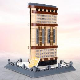 4220 Wange Небоскреб Flatiron Building