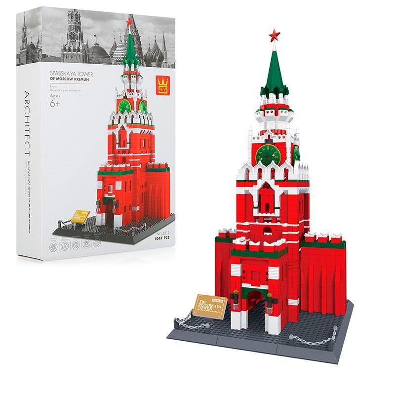 5219 Wange Спасская башня Московского Кремля