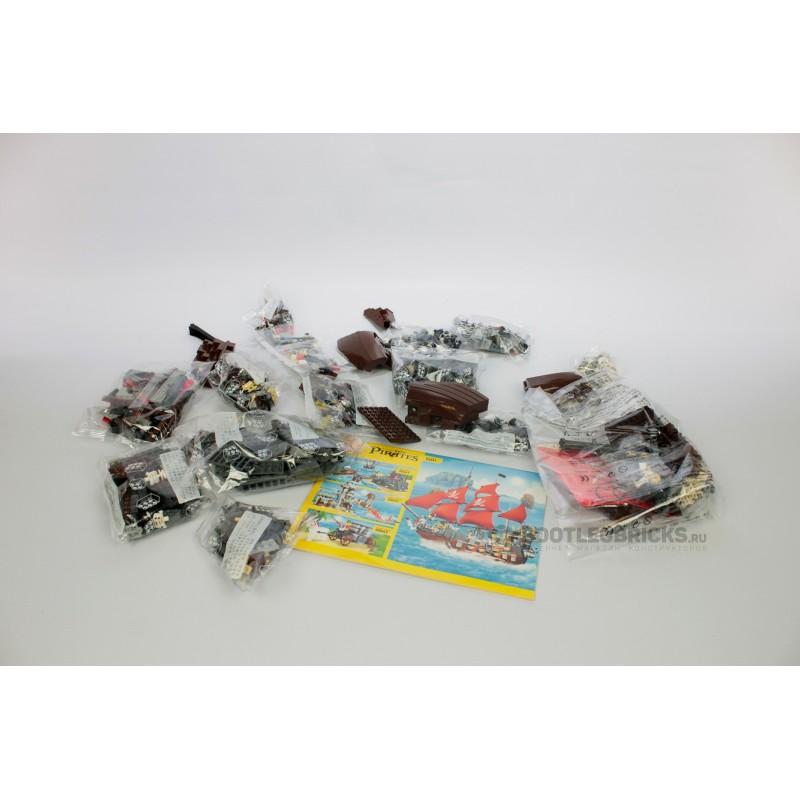 53041 WANGE Месть королевы Анны : аналог LEGO