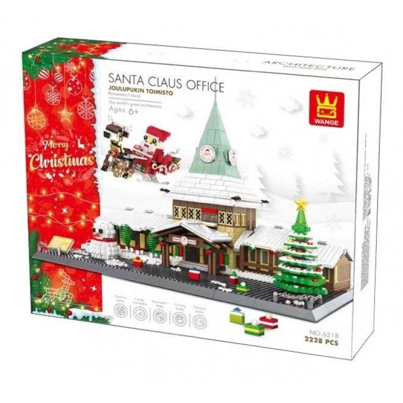 6218 Wange Офис Санта-Клауса