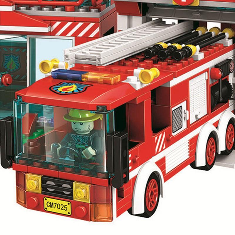 7025 WINNER Пожарное депо
