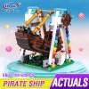 01109 XingBao Пиратская лодка