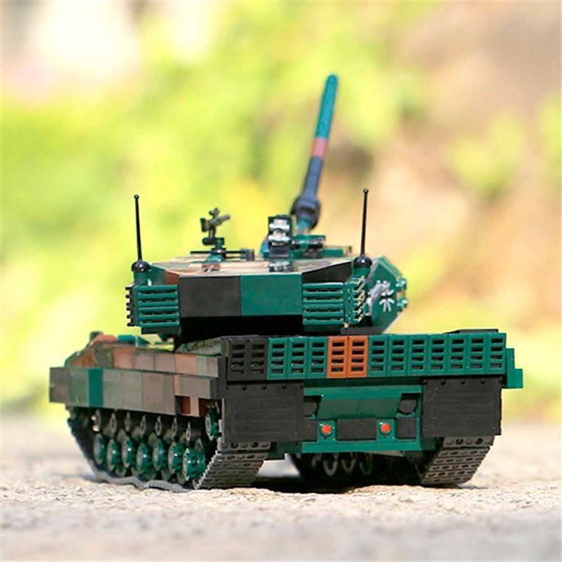 XB-06040 Xingbao Немецкий танк Leopard 2A6