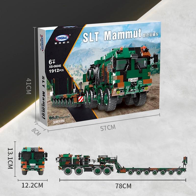 XB-06046 Xingbao Тяжелый транспортер SLT Mammut